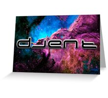 Space Djent Greeting Card