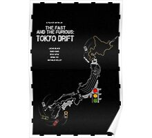 The Fast and the Furious - Tokyo Drift (2006) Poster
