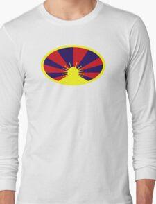 Tibet flag Long Sleeve T-Shirt