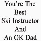 You're The Best Ski Instructor And An OK Dad  by supernova23