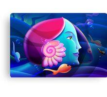 Underwater Fantasy Wall Fine Art Canvas Print