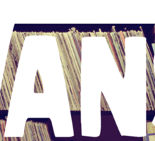 VANS : Bookstore Sticker