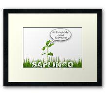 Saplingo Framed Print