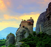 Meteora, Greece by FritzFitton