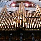 Ornate Organ Pipes by MidnightMelody