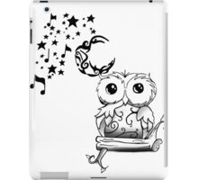 Intricate Owl at Musical Midnight iPad Case/Skin