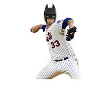 Matt Harvey, the Dark Night by foxygrampa