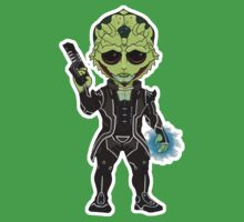 Mass Effect 3: Thane Krios Chibi Kids Clothes