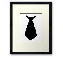 Tie Framed Print