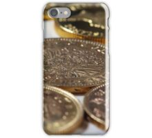 Old Gold Coins iPhone Case/Skin