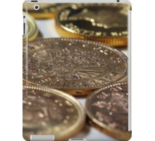 Old Gold Coins iPad Case/Skin