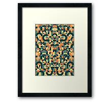Pattern Cool  Framed Print