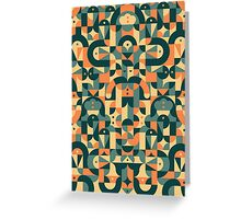 Pattern Cool  Greeting Card