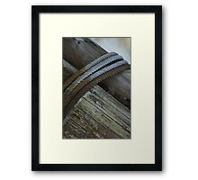 cables Framed Print