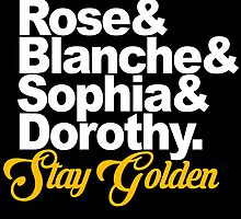 Stay Golden by FDNY