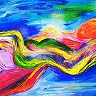 Spirits Recling Nudes by Ming  Myaskovsky