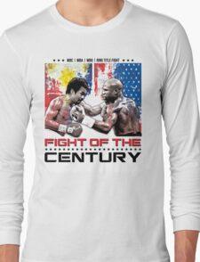 Pacquiao Mayweather shirt Long Sleeve T-Shirt