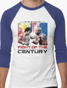 Pacquiao Mayweather shirt Men's Baseball ¾ T-Shirt