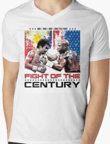 Pacquiao Mayweather shirt Mens V-Neck T-Shirt
