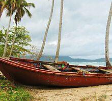 Fisherman's Boat by Carole Boudreau