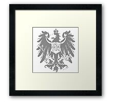 A Complete Guide to Heraldry - Figure 445 — Arms of the Prussian Province of Brandenburg (From Ströhl's Deutsche Wappenrolle) Framed Print