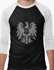 A Complete Guide to Heraldry - Figure 445 — Arms of the Prussian Province of Brandenburg (From Ströhl's Deutsche Wappenrolle) Men's Baseball ¾ T-Shirt