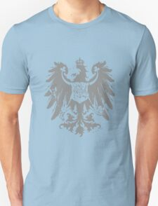 A Complete Guide to Heraldry - Figure 445 — Arms of the Prussian Province of Brandenburg (From Ströhl's Deutsche Wappenrolle) Unisex T-Shirt