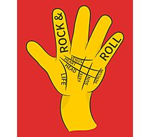 Palmistry Rock N Roll Photographic Print