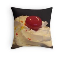 CHERRY TOP Throw Pillow