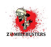 zombie busters (ghostbusters) Photographic Print