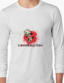 zombie busters (ghostbusters) Long Sleeve T-Shirt