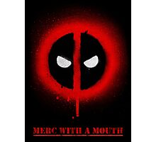Merc With A Mouth Photographic Print
