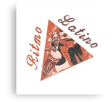 Ritmo Latino Canvas Print