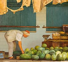MARKET II by William  Stanfield