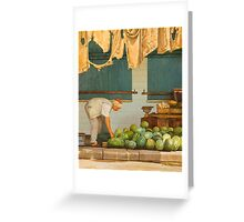 MARKET II Greeting Card