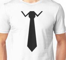 Tie collar Unisex T-Shirt
