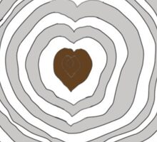 I Heart Wood Sticker