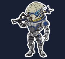 Mass Effect 3: Garrus Vakarian Chibi Kids Clothes