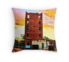 Lincoln Oakbank Brewery Throw Pillow
