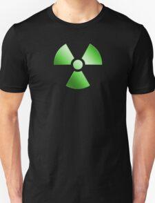 Radioactive Symbol Warning Sign - Radioactivity - Radiation - Green T-Shirt