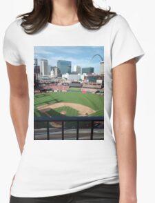Busch Stadium - St. Louis Cardinals Baseball Womens Fitted T-Shirt
