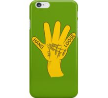 Palmistry Hang Loose Shaka Sign iPhone Case/Skin