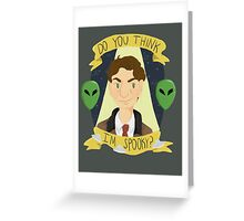 Fox Mulder Greeting Card