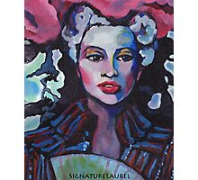 Colorful Lady Photographic Print