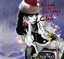 Waiting for Santa Claus by raynadee