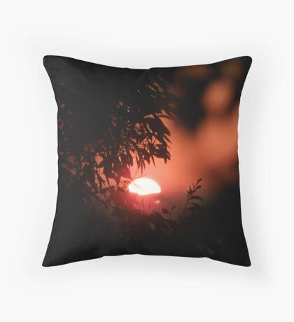 """""""Firey Glow""""! Throw Pillow"""
