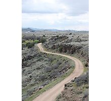 Winding Dirt Road Photographic Print