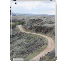Winding Dirt Road iPad Case/Skin