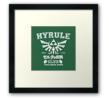 Hyrule Club Framed Print