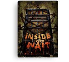 Inside We Wait Canvas Print